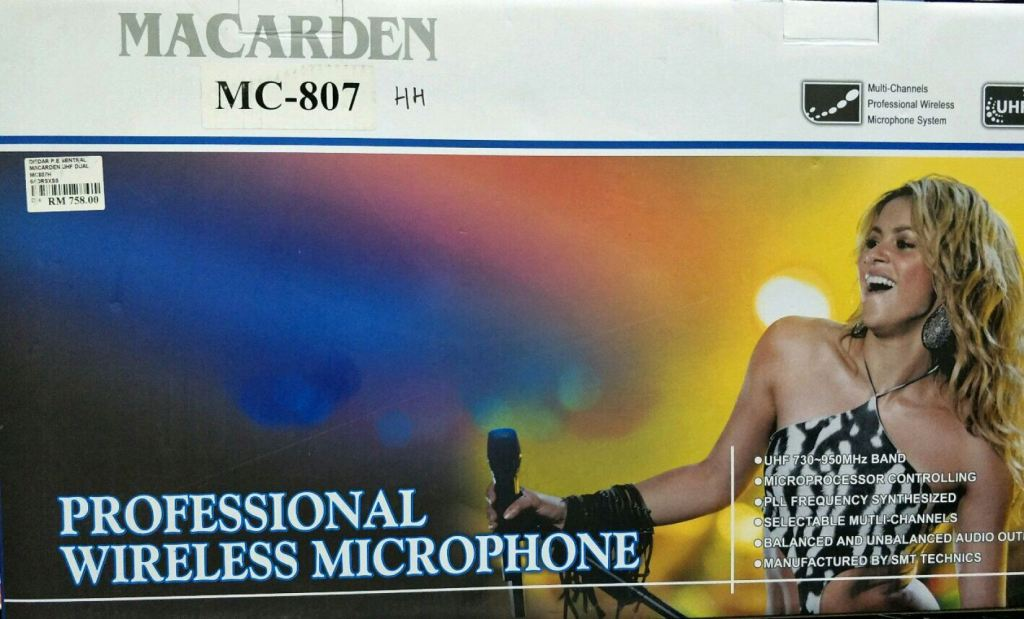 MACARDEN WIRELESS MIC