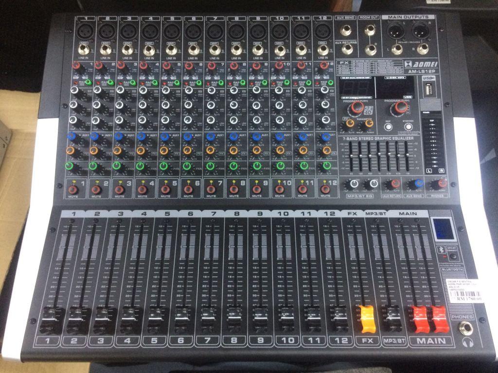 AOMEI AM-LS12P Power Mixer 12Ch