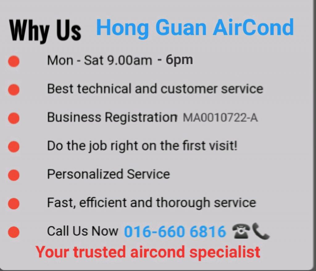 Your Trusted Aircond Specialist in Melaka
