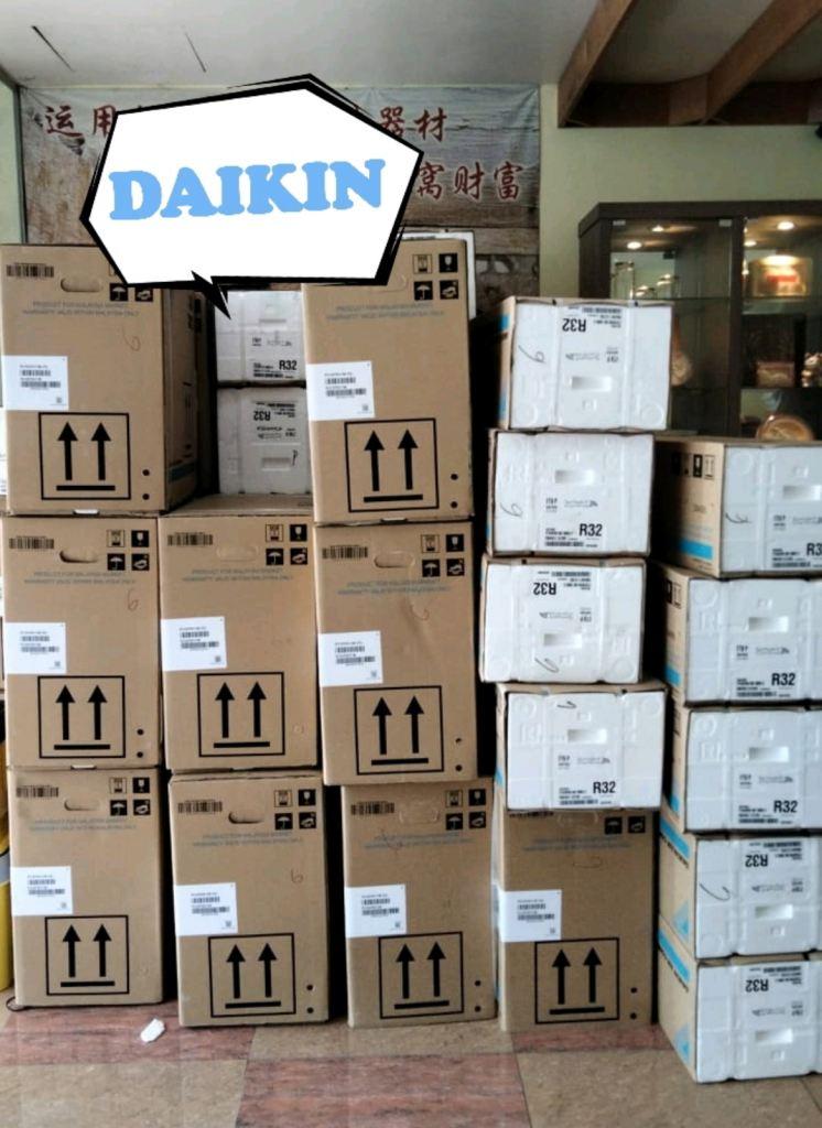 Daikin Restock after a long wait