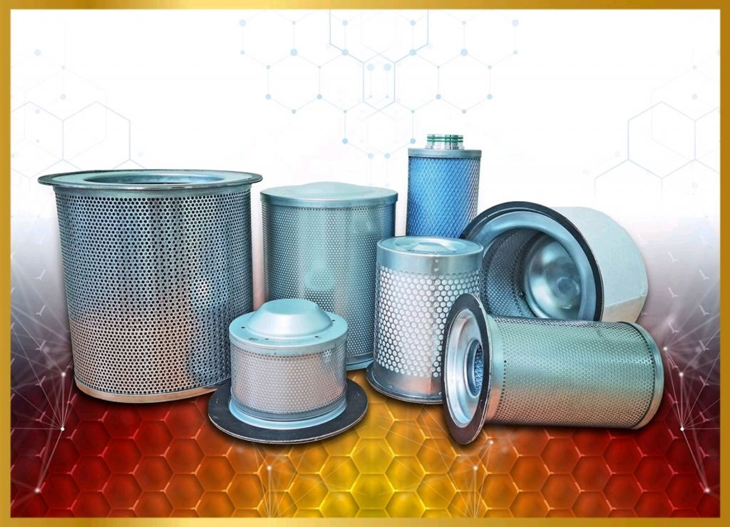 Air Compressor Oil Separator Air Filter Oil Filter