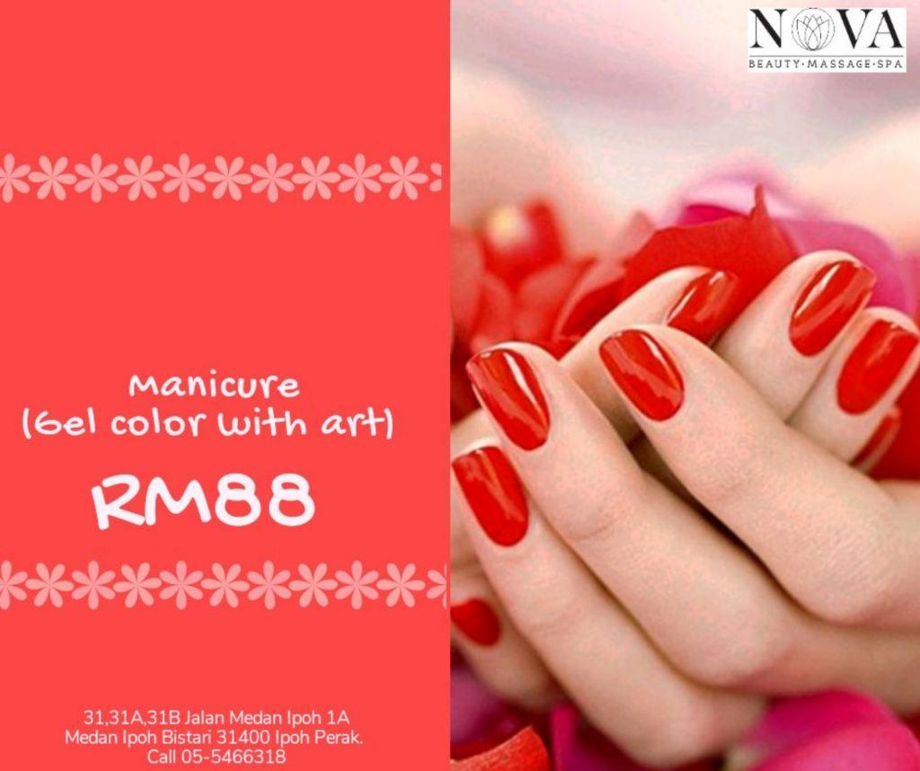 Classic manicure RM88