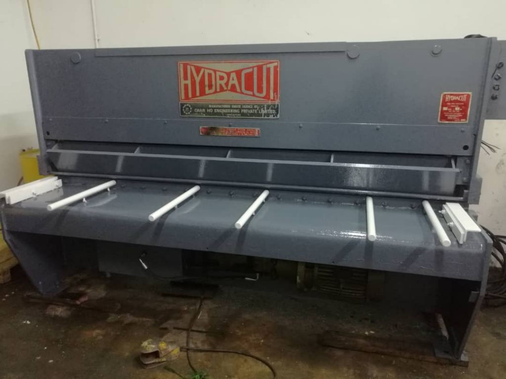 Used Hydracut Shearing Machine