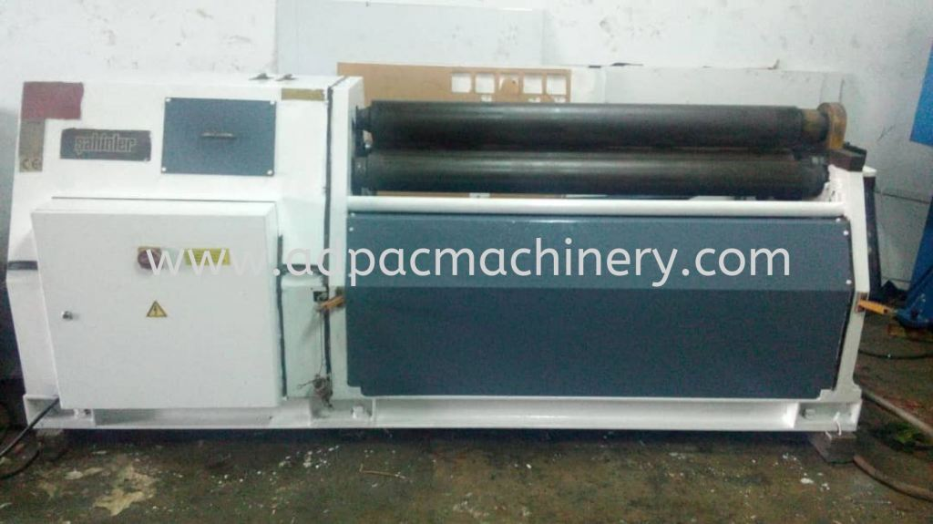 "Used ""Sahinler"" Hydraulic Plate Rolling Machine"
