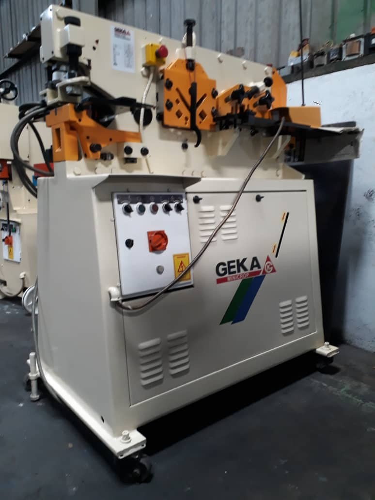 """Geka"" Refurbished Hydraulic Steel-Worker"