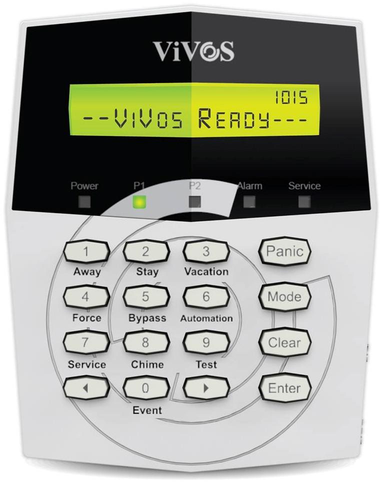 ViVOS LCD Keypad