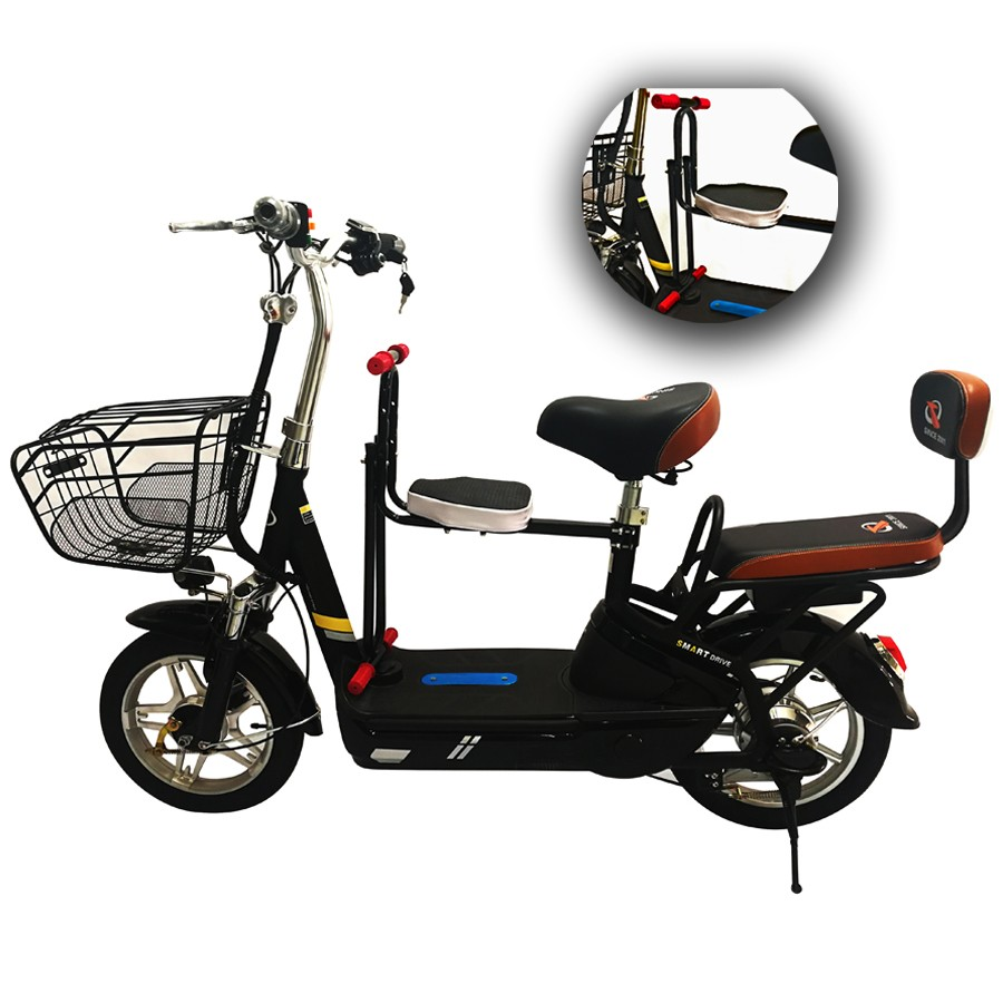 Fresco Electric Bike With Kid Seat XYX