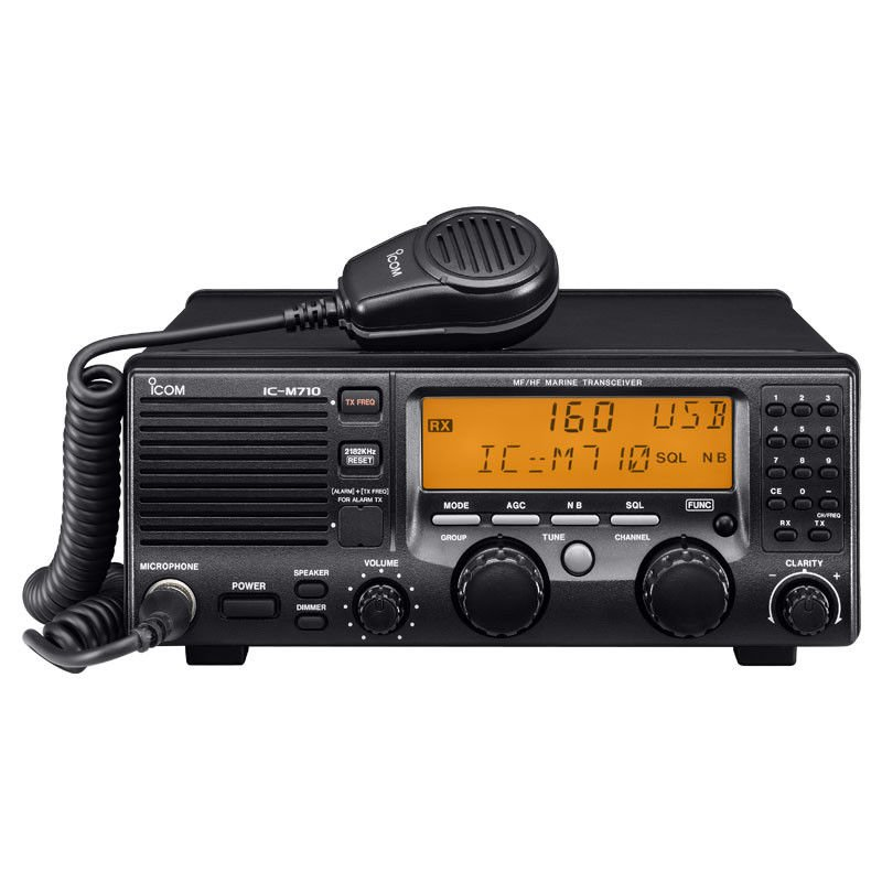 ICOM IC-M710 MF/HF Marine Radio Transceiver