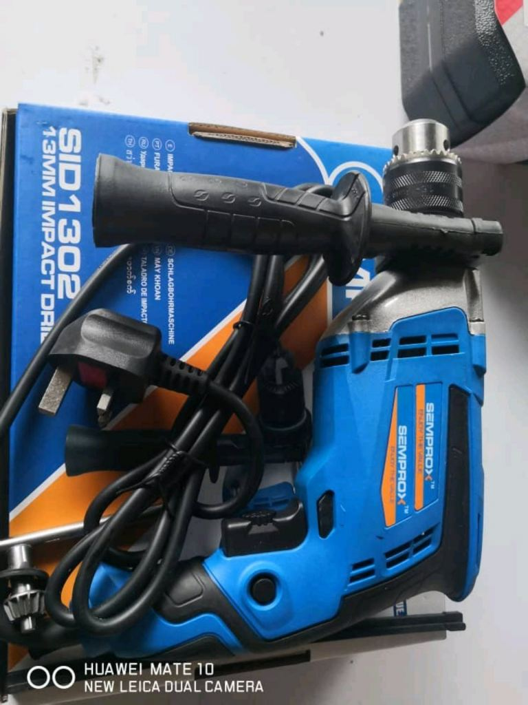 Semprox 13mm Impact Drill  Buy 1 Free 1  RM 230.00 ENJOY THE VALUE  www.wasap.my/60126868099