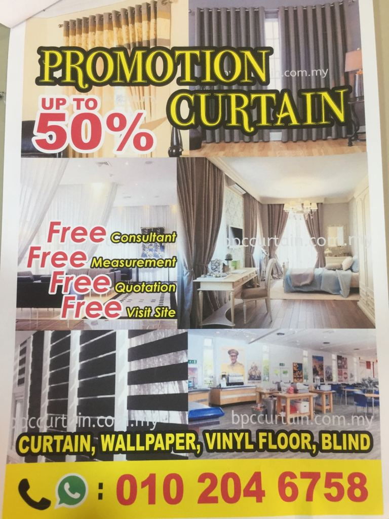 Curtaion Offer Now