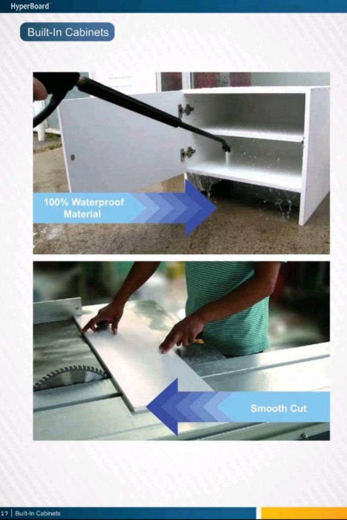 Water Proof Hyperboard Supply Nationwide
