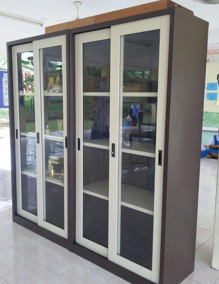 Full Height Cupboard Sliding Glass Door
