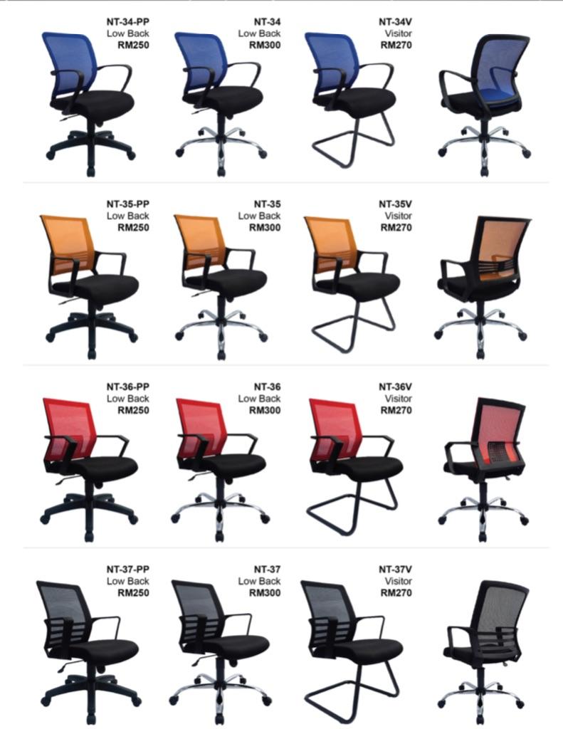 Economic Mesh Chair