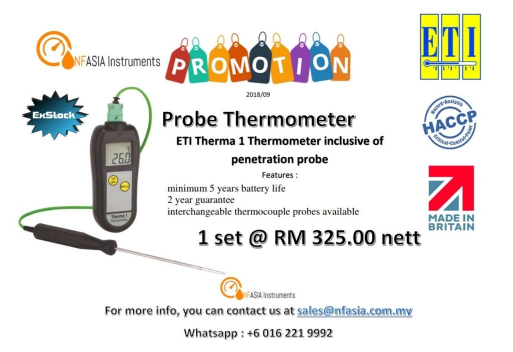 ETI THERMOMETER WITH PENETRATION PROBE