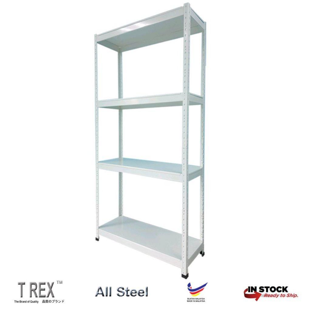 T Rex Standard 4 Tier Boltless Storage Rack