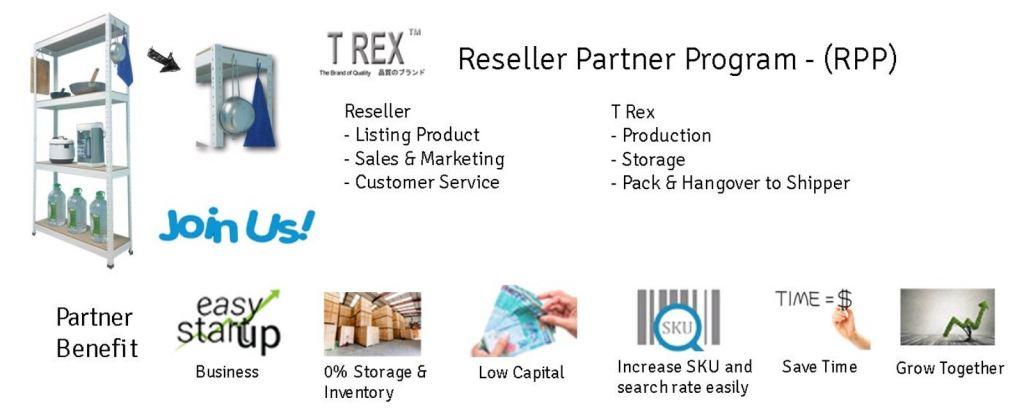 T Rex Reseller Partner Program - (RPP)