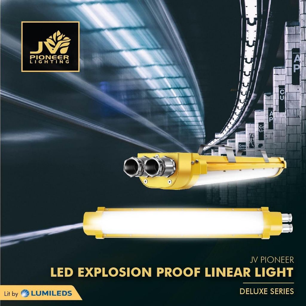 JV PIONEER LED EXPLOSION PROOF LINEAR LIGHT