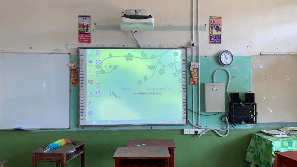 ALL IN ONE SMART CLASSROOM SYSTEM  and Meeting Room System.