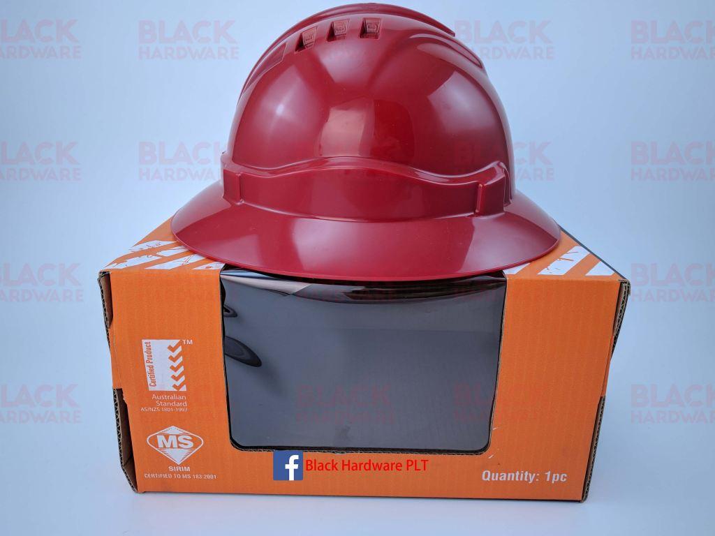 Proguard Full Brim Safety Helmet/Sirim Certified