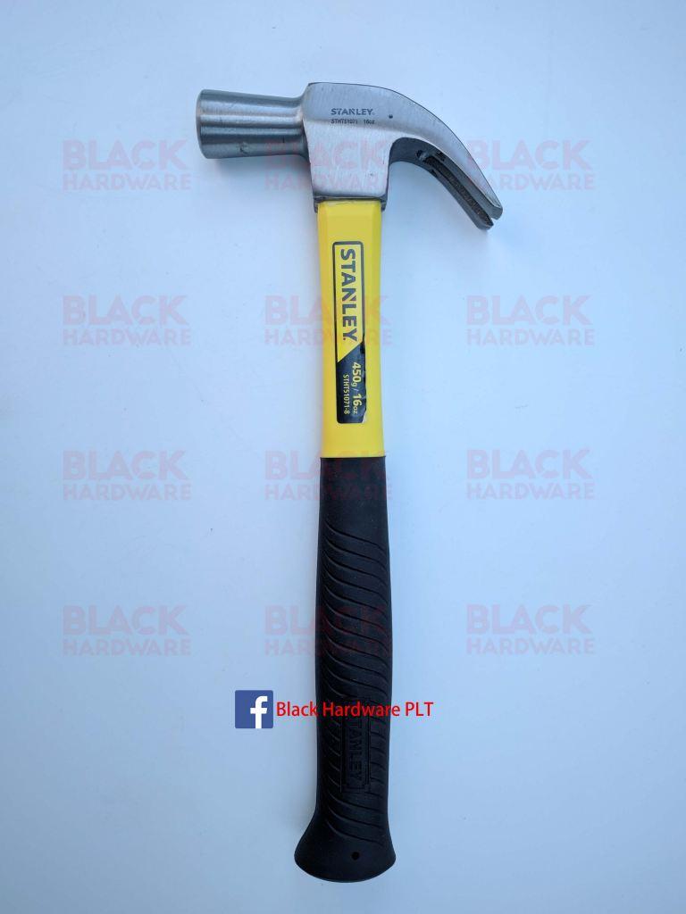 STANLEY STHT51071-8 27mm Fiberglass Nail Claw Hammer