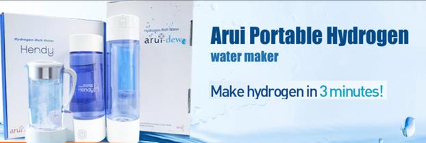 Hydrogen portable water maker