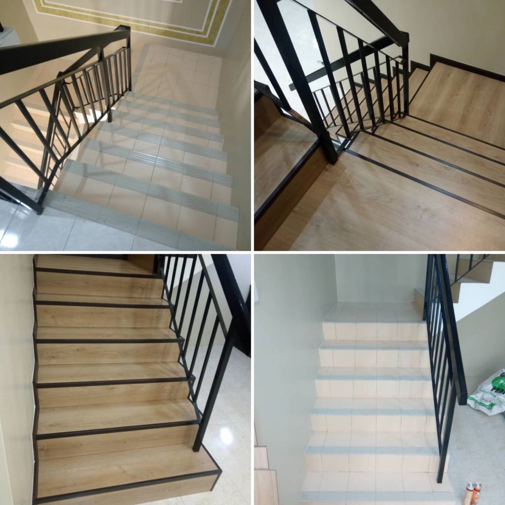Staircase laminated Flooring