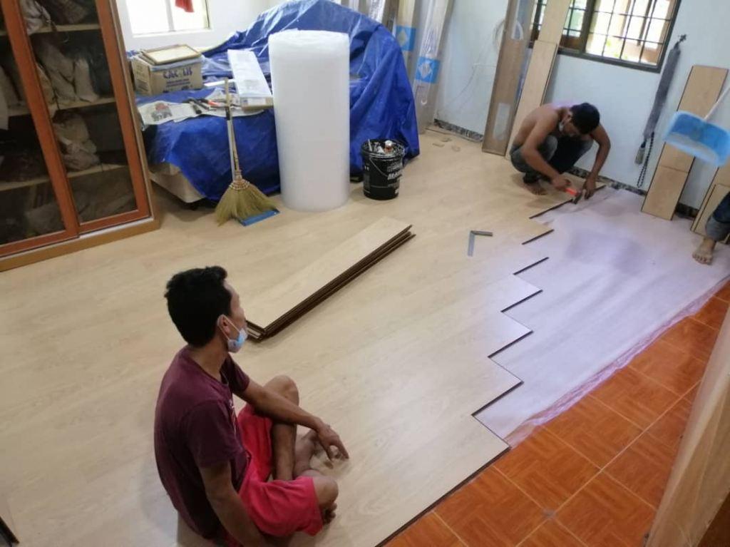 Installation Robina Laminate flooring