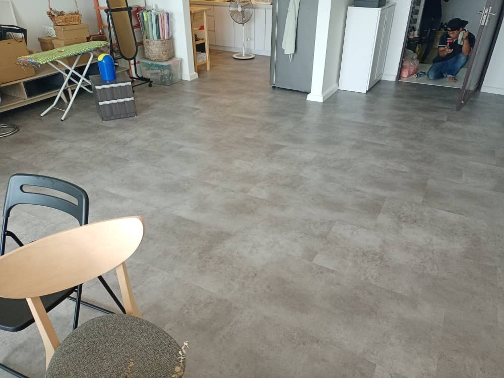 SPC FLOORING STONE MABLE