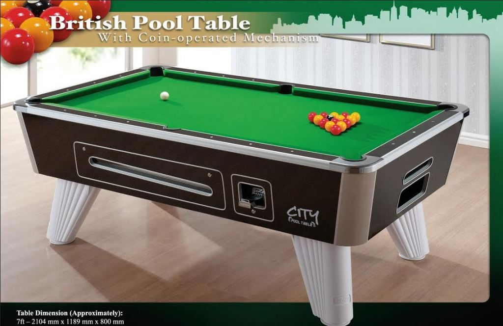 GSE 7ft City Pool Table