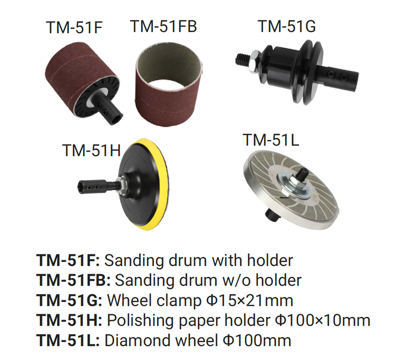 TM Mini Bench Grinder TM-5