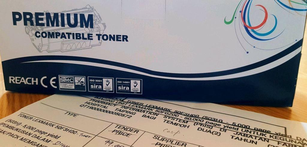 Premium Hi-GRADE Compatible Toner