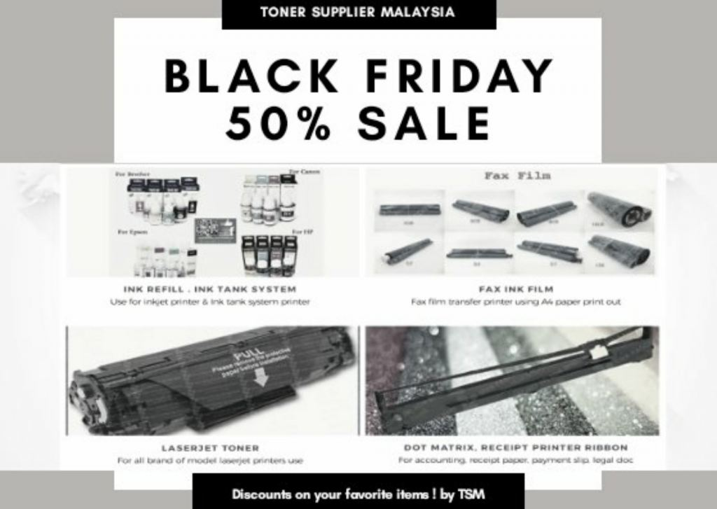 BLACK FRIDAY 50% SALES ! ( While Stock Last )