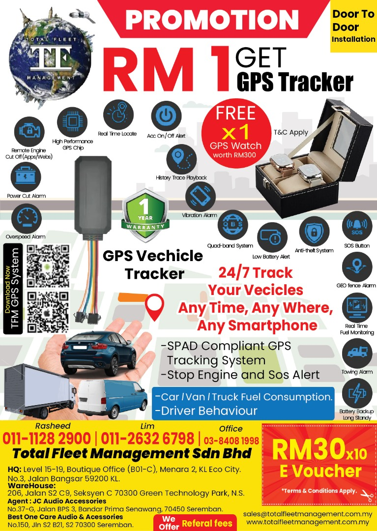 GPS Tracking Promotion