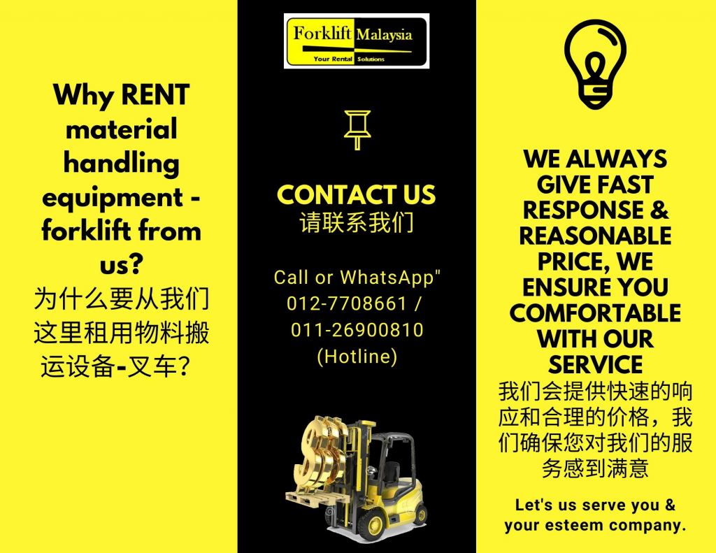 Forklift for Sale Malaysia