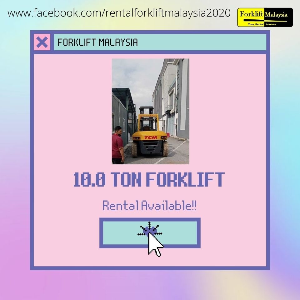 Forklift for Rent Malaysia
