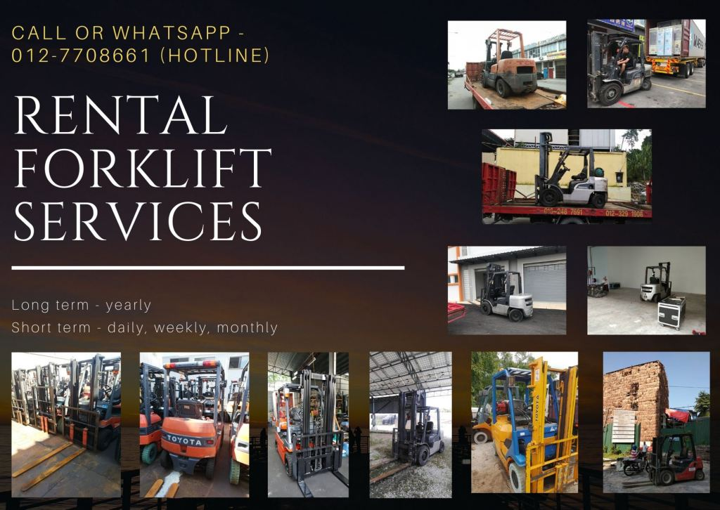 Forklift Supplier in Malaysia