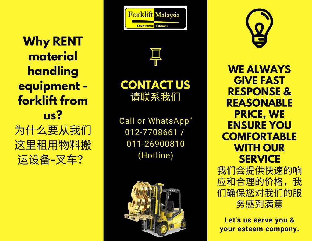 Malaysia Forklift Rental