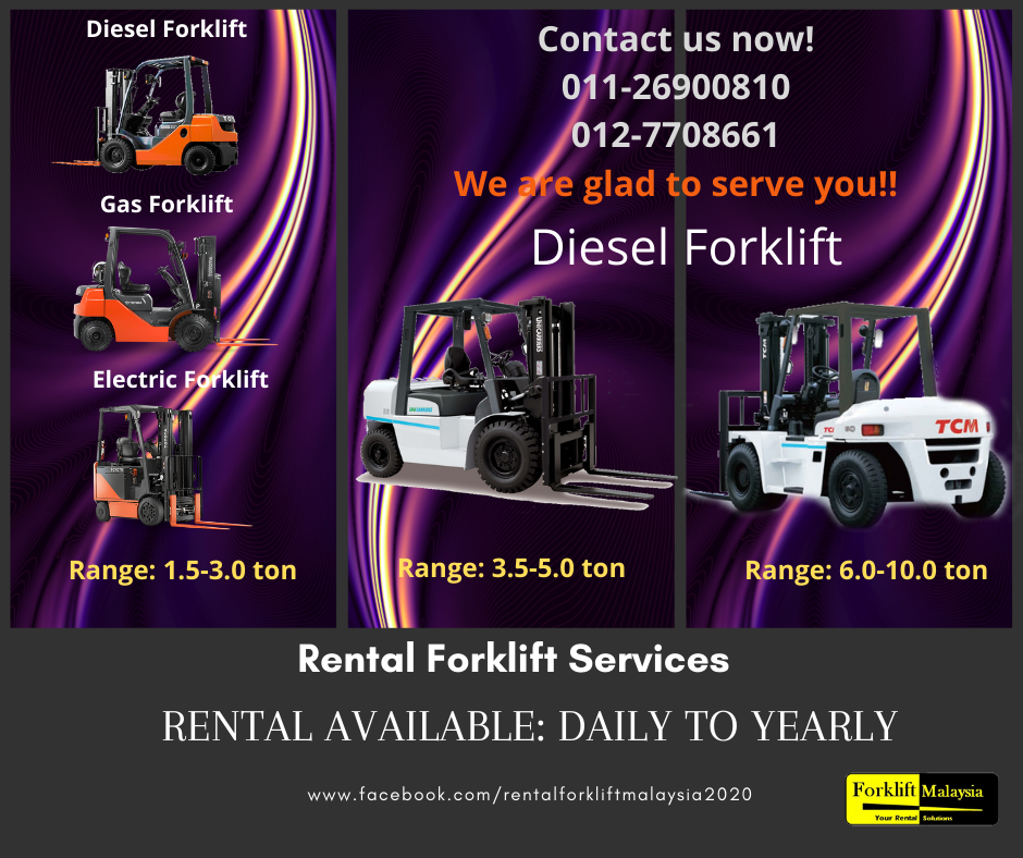 Forklift at Malaysia