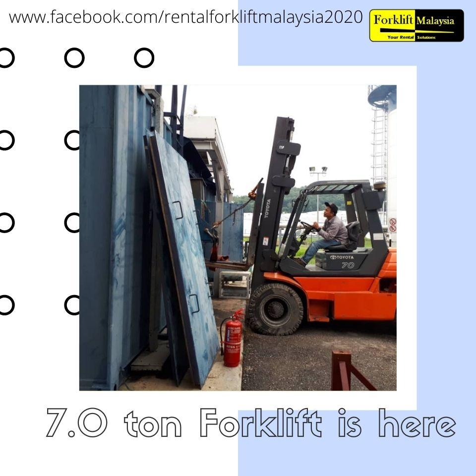 Forklift Rental Malaysia