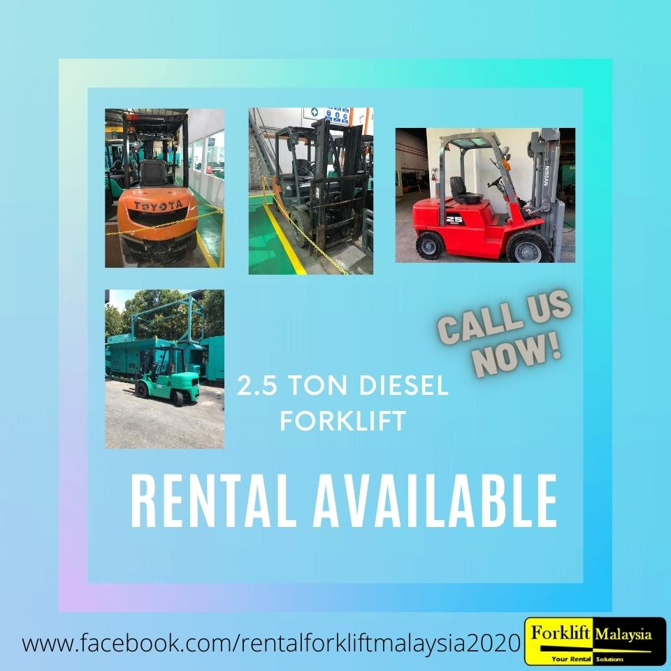 Forklift Rental Rate Malaysia