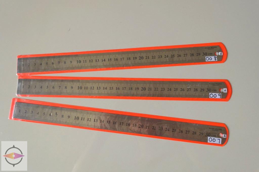 Delivered back to Customer - (Steel Ruler) Calibration Equipment