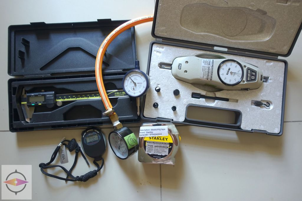 Delivered Calibration Equipment back to Customer