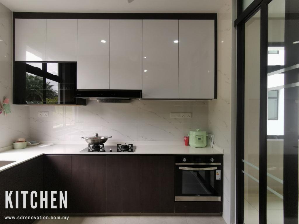 Minimalist Kitchen Design Ideas @Desa Cemerlang, Johor Bahru