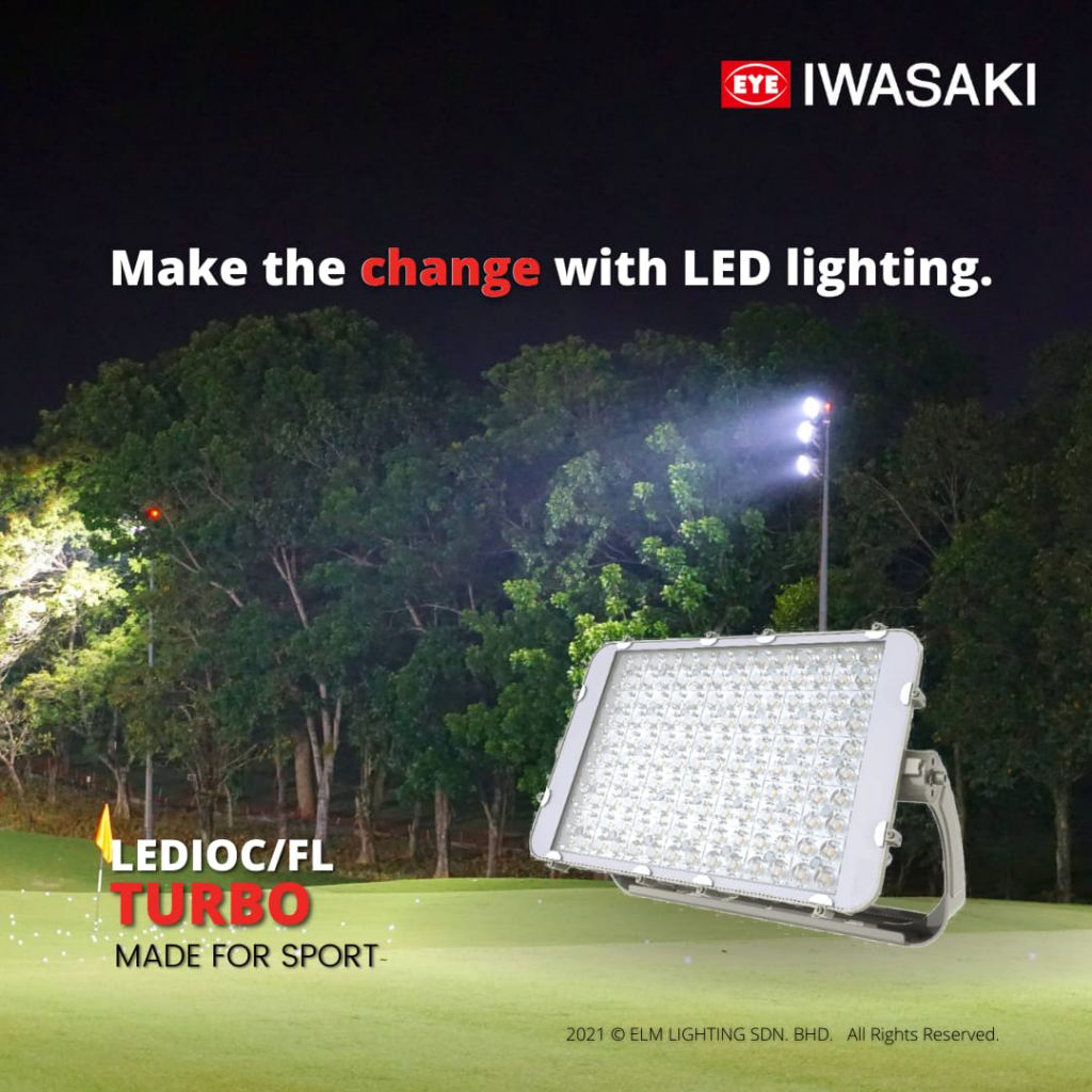 LEDioc/FL Turbo Flood Light series, an excellent replacement for conventional metal halide lamps