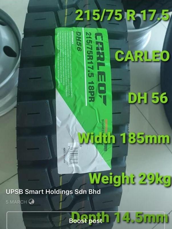 CARLEO DH56 ( HEAVY DUTY FOR 3 TON LORRY )