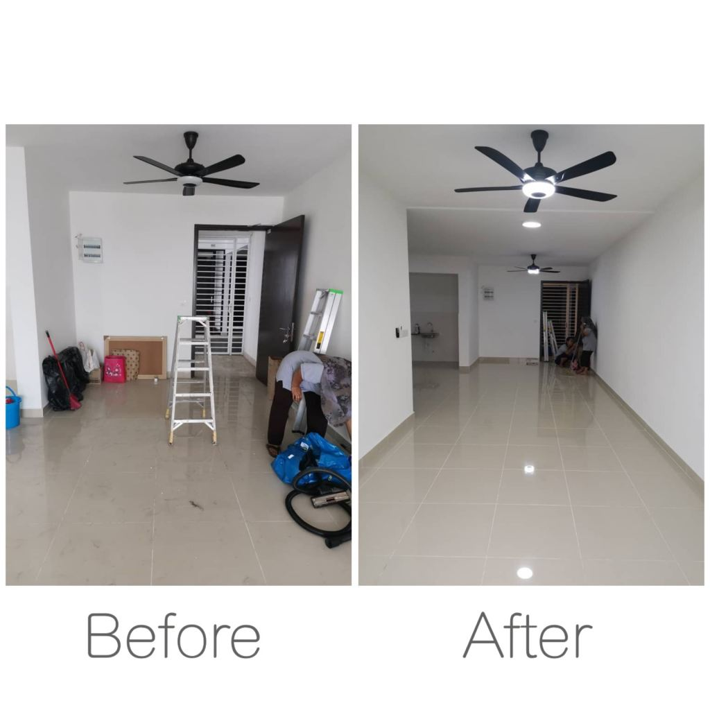 Move In House Cleaning At Petaling Jaya