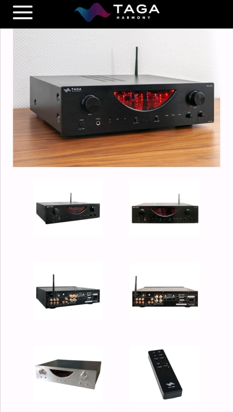 Taga hybrid stereo amplifier